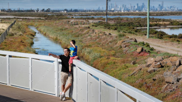 Pablo and his son Eliott are frustrated with Melbourne's school zoning rules