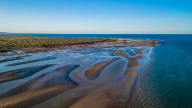 Bay of Rest near Heron Point in the Exmouth Gulf.