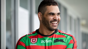 The champion Rabbitohs skipper will make his return to rugby league with Warrington in 2021.
