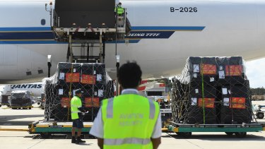 The grounding of international passenger flights cut off the bulk of air cargo capacity.