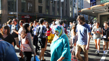 Sixty per cent of Australia's population growth in the past decade has come from migration.