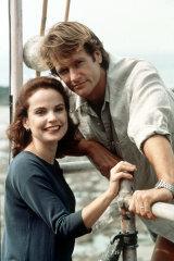 Sigrid Thornton and William McInnes in the original SeaChange.