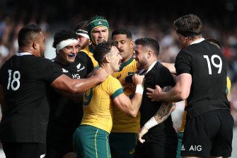 The All Blacks came out fighting after a week of criticism followed last week's draw in Wellington.