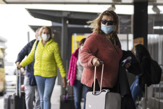 At the start of the pandemic last year it was revealed that only 5 per cent of protective masks were made locally.