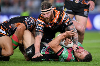 The Rabbitohs' last win came against the Tigers in round 11.