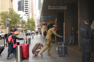 Hundreds of travellers have been sent to hotels for the mandatory two-week quarantine period.