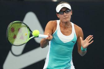 Arina Rodionova upset Sloane Stephens.