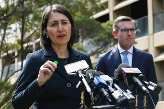 Premier Gladys Berejiklian is still concerned with the number of people getting COVID-19 tests.