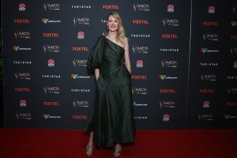 Babyteeth director Shannon Murphy arrives at the AACTA Awards.