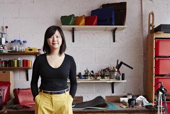 Candice Lau in her London studio.