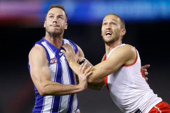 Sam Reid's Sydney future is in the balance.