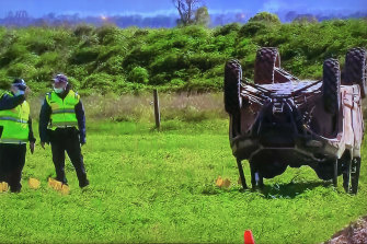 A six-year-old girl died after an off-road buggy she was travelling in with a man and six other children rolled in Gippsland on Saturday afternoon.