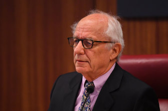 Commissioner Raymond Finkelstein listens to fresh complaints about Crown's conduct