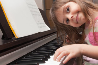 Organising extracurricular activities such as piano lessons often falls to the mother.