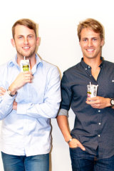 Andrew Hawkins has been involved in many of Sandilands' business ventures, including the launch of H2CoCo coconut water with David Freeman, son of Sydney crime figure George Freeman.