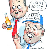 Carlton United Breweries offered to supply both major political parties with beer for the campaign.