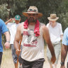 Indigenous AFL great plans another Long Walk