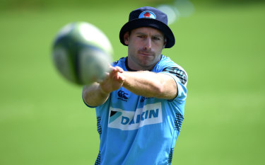 All the skills: Waratahs No.10 Bernard Foley.
