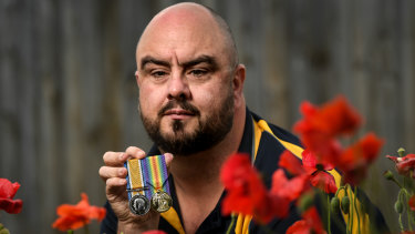 Robert MacBeth is the great-grandson of  World War I soldier Private Hedley MacBeth.