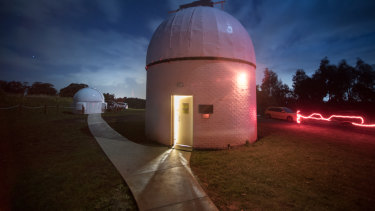 Mount Burnett Observatory is one of the only places in Victoria where the public can go to use huge telescopes