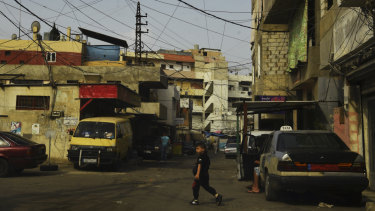 "Ain al-Hilweh - a refugee ""camp"" that's a cross between a ghetto and a prison."