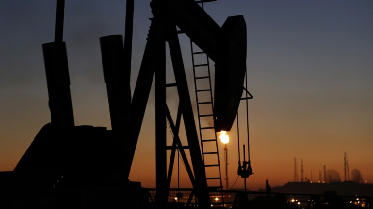 Oil fell to a two-month low overnight.