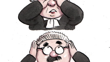 Three wise barristers