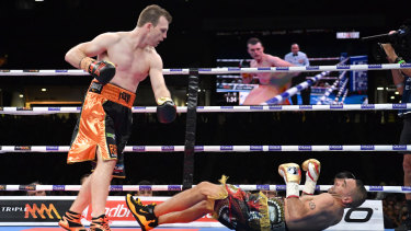 Too easy: Michael Zerafa says Jeff Horn has nothing to be proud of by beating a 44-year-old Anthony Mundine.