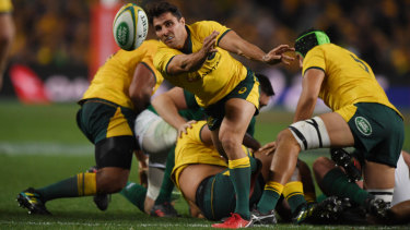 Wallabies and Waratahs halfback Nick Phipps is understood to have signed with London Irish.