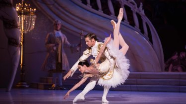 Ty Wall-King and Amber Scott in Sleeping Beauty.