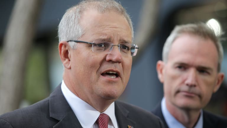 Prime Minister Scott Morrison and Immigration Minister David Coleman are connected to a bidder for a major government contract.