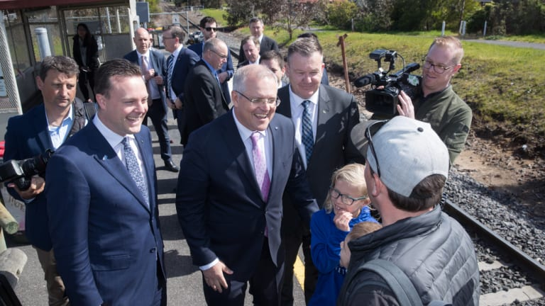 Mr Morrison hinted at more congestion-busting announcements for Victoria.