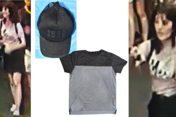 'Absolutely horrific': CCTV images of slain student, clothing found at the scene