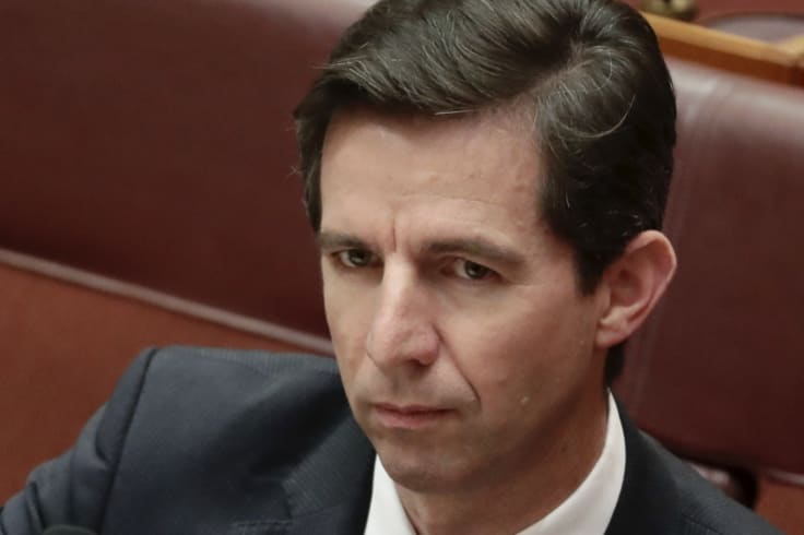 Federal Education Minister Simon Birmingham. The government says its aim is to have a clear, fair approach to funding.