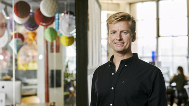 Patrick Llewellyn is the chief executive of 99designs.