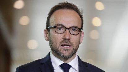 Green leader Adam Bandt says coal and gas should be phased out by 2030