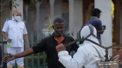 Sri Lankan minister who advocated 'divine' COVID potion tests positive to virus