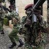 Al-Shabab claims attack on base serving US, Kenyan troops