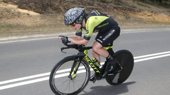 Brown lays early claims to Tokyo with Australian time trial win