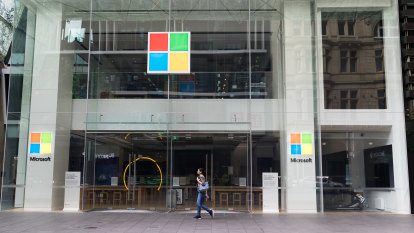 Microsoft sales rise as working from home buoys demand