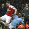 Arsenal readies to 'surprise' City in competition restart