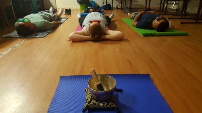 Yoga has troubled teens breathing calm into chaos