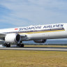 Singapore Airlines will be operating its Boeing 787-10 Dreamliners three times a week between Singapore and Sydney.