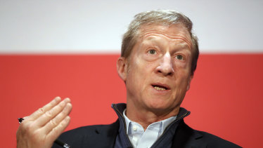 Billionaire financier and environmental activist Tom Steyer has decided to enter a crowded presidential race.