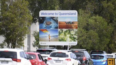 Queensland maintained a hard border with NSW for much of 2020.