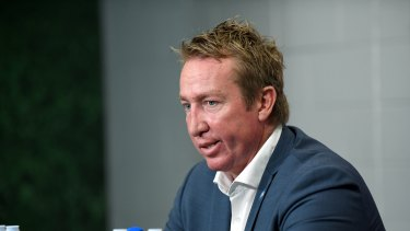 Trent Robinson has repeatedly gone into bat for Mitchell.