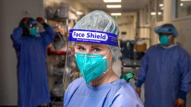 St Vincent's Hospital intensive care doctor Yvette O'Brien.
