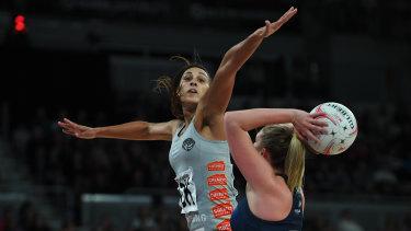 Geva Mentor in action against her former team.