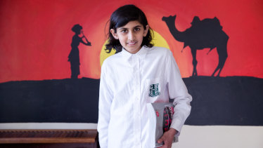 Smit Shilpatul is one of the youngest students preparing to sit this year's HSC exam.