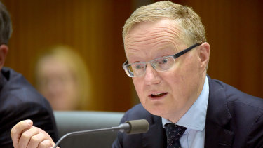 Reserve Bank of Australia governor Philip Lowe.
